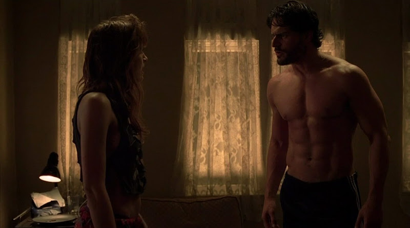 Joe Manganiello Shirtless on True Blood s3e05