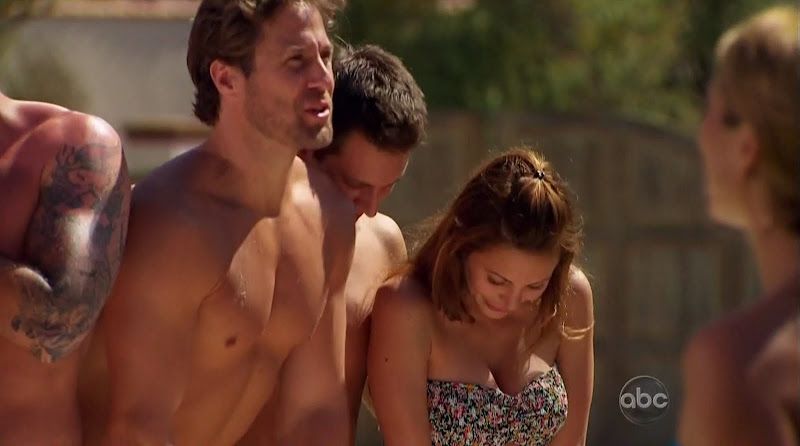 Craig McKinnon, David Good, and Juan Barbieri Shirtless on Bachelor Pad s1e01