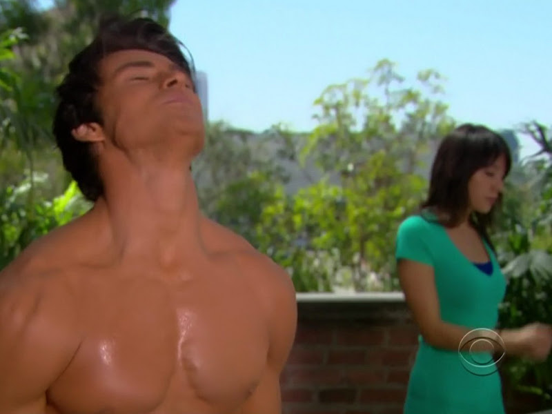 Adam Gregory Shirtless on Bold and the Beautiful 20101011