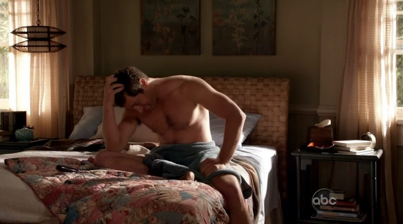 Jeremy Davidson Shirtless on Brothers and Sisters s5e05