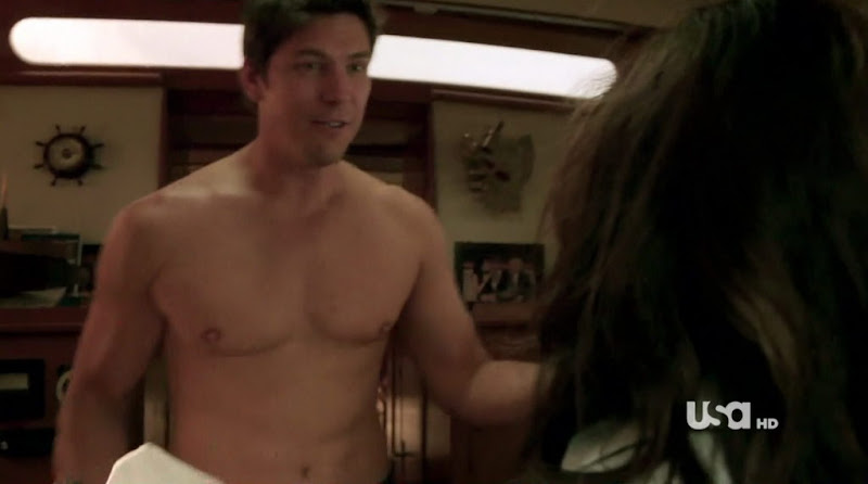 Michael Trucco Shirtless on Fairly Legal s1e01