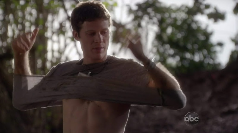 Zach Gilford Shirtless on Off The Map s1e03