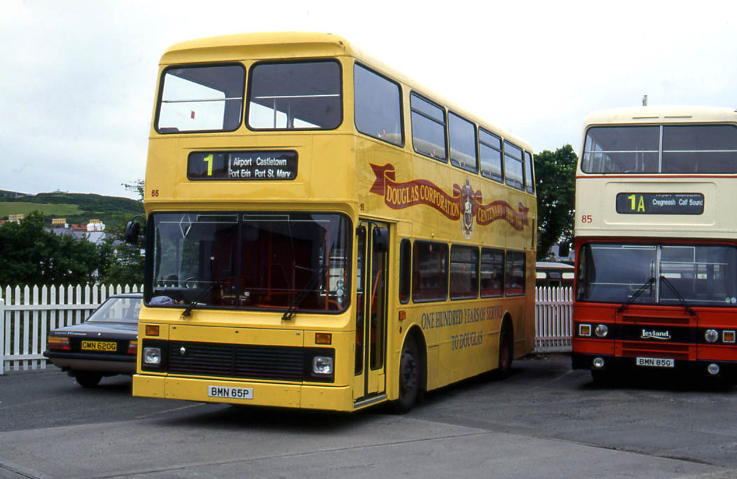 Isle of Man 1996 Part 3 Buses Coaches Transport Illustrated