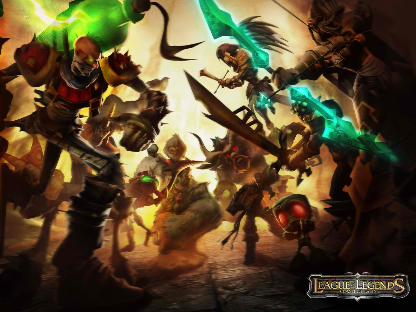 More League of Legends wallpapers can be downloaded here: