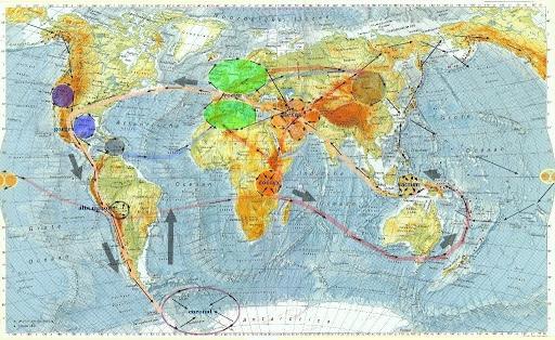 Los chakras de la Tierra