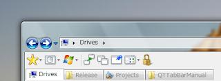qttabbar top Get the Tabbed Browsing in Windows Explorer for Windows XP/Windows Vista
