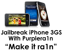 Download Purplera1n For Mac Now-Jail break iPhone 3GS