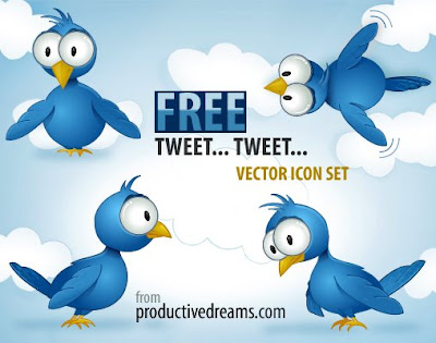 twitter icons by productive dreams 400+ Beautiful Twitter Icons for your Website