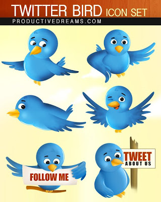 twitter icons by gopal raju 400+ Beautiful Twitter Icons for your Website