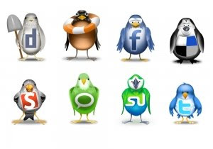 social icons inspired by twitter bird, 400+ Beautiful Twitter Icons for your Website