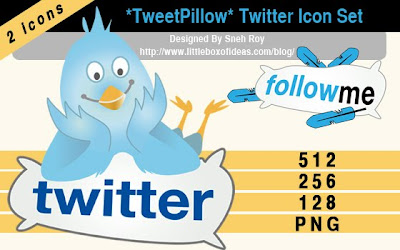 tweet pillow twitter icons 350+ Fresh Twitter Icons