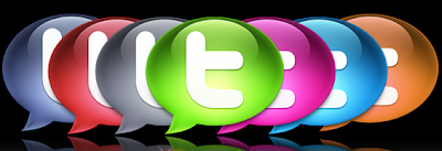 big long colorful Twitter icons 350+ Fresh Twitter Icons