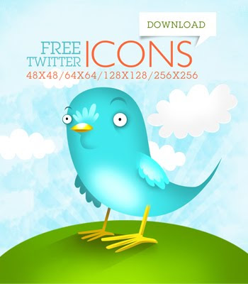 beautiful twitter bird icons 350+ Fresh Twitter Icons