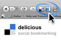 delicious social bookmarking firefox plugin 25 Super Firefox Addons For Bloggers