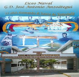 """Fachada del Liceo Naval """"GD. JOSE A. ANZOATEGUI"""""""