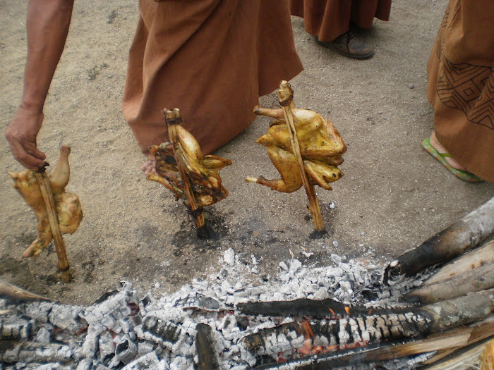 Plato típico: gallina acancarish