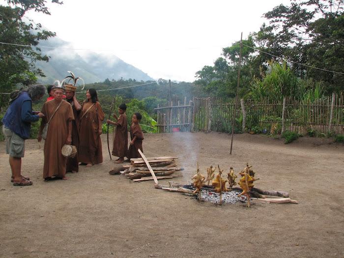 Filmación del video promocional Corredor Arawak