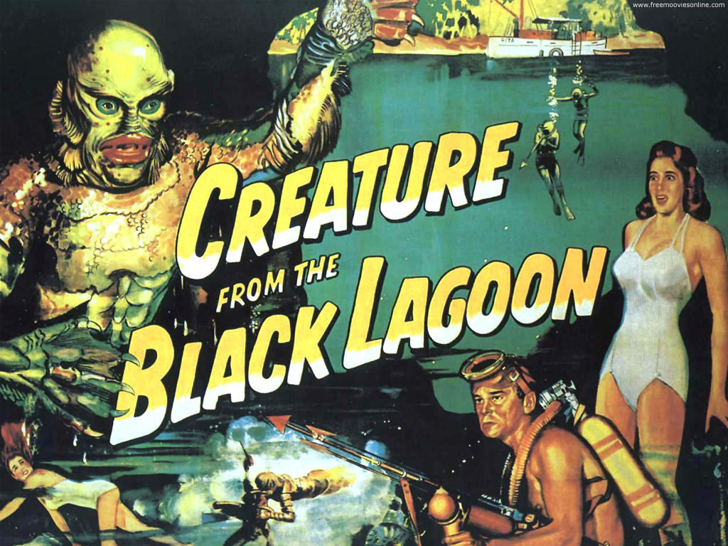 creature from the black lagoon 1 1024 Hot pose