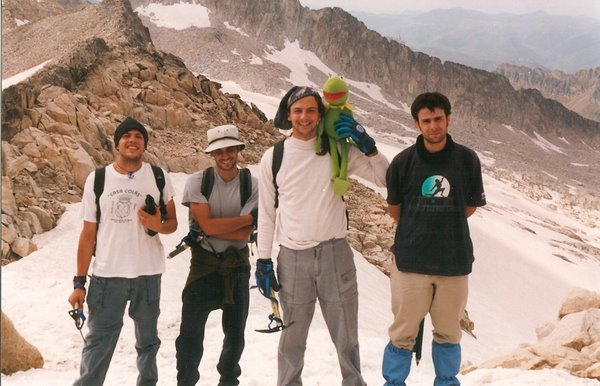 ascension al Aneto (3404m) Agosto 2001
