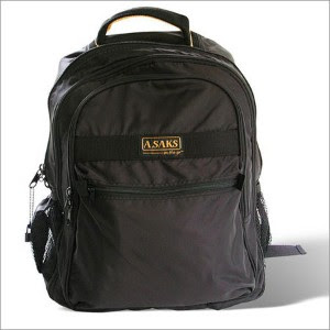 A.Saks Expandable Lightweight Backpack