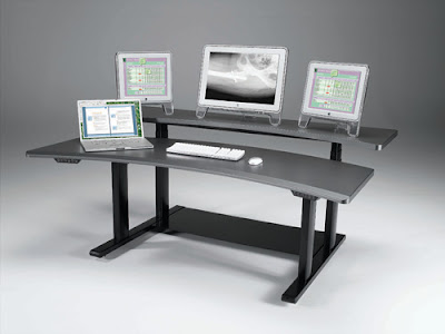Computer Desk Made by Ergonomic Concepts