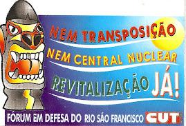 CUT Sergipe na luta contra a transposição