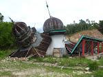 Robohnya Surau Kami Pasca Gempa