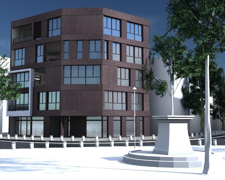 Nomad blog projet maison rouge partiel for Projet maison 3d
