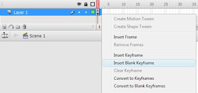 how to add stuff after a blank keyframe
