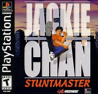 capa Jackie Chan Stuntmaster | PS1