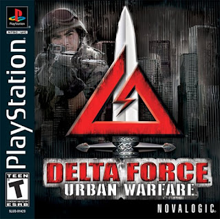 capa Delta Force: Urban Warface | PS1 | NTSC