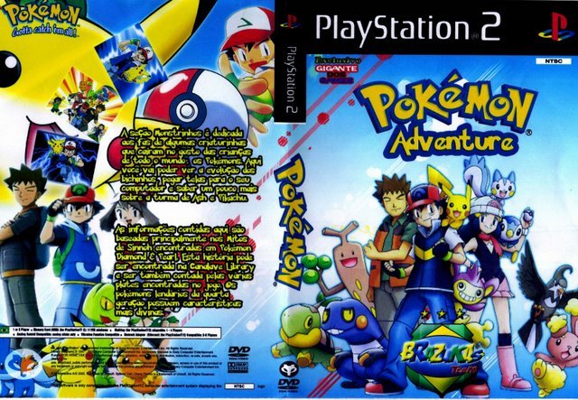 Pokemon Adventures   PS2