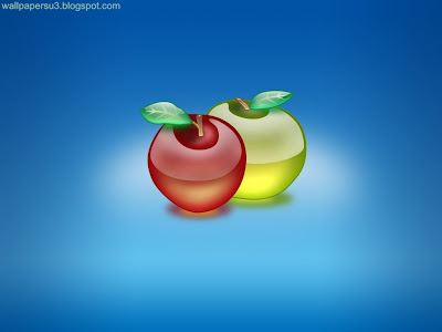 Apple 3D Standard Resolution Wallpaper