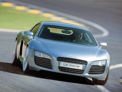 Audi R8 LE Mans Standard Resolution wallpaper 4