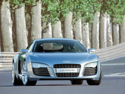 Audi R8 LE Mans Standard Resolution wallpaper 2