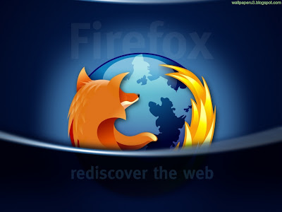 Firefox Dark Standard Resolution Wallpaper