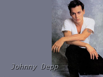 Johny Depp Standard Resolution Wallpaper 7