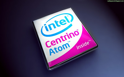 Intel Centrino Atom Widescreen Wallpaper