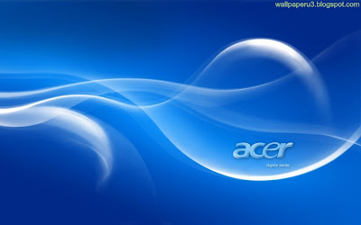 Blue Background Acer Standard Resolution Wallpaper