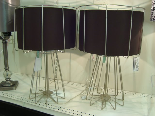 These Lamps ($59.99 Each) Are Totally Industrial Chic. Iu0027m Picturing Them  On End Tables In A Very Modern Space: