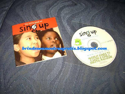 Brinde Gratis CD Sing Up