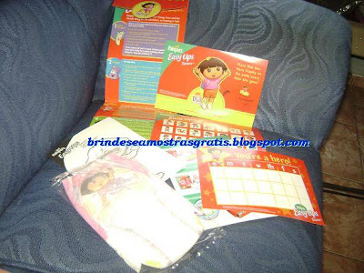 Brinde Gratis Kit Pampers