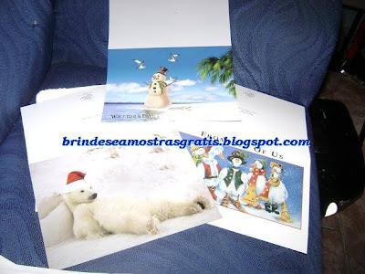 Amostra Gratis Cartóes de Natal Holiday