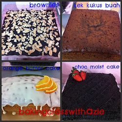 Class Commercial Cake - RM180
