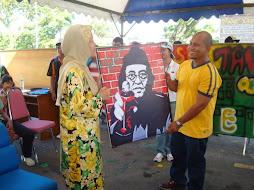 Program Grafiti Rakan Muda Kalabakan