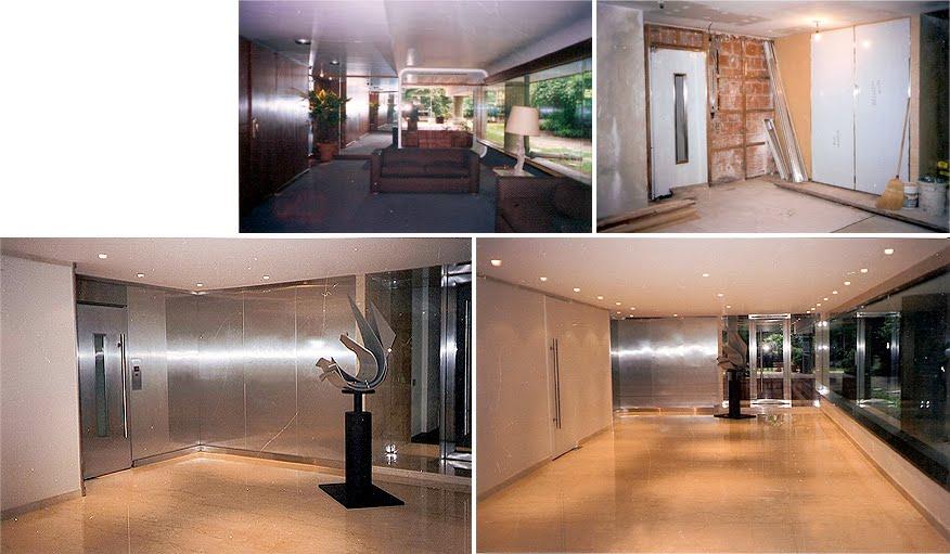 Arq mar a cosentino hall de entrada edificio calle - Decoracion hall de entrada edificios ...