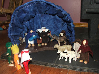 Cherished Hearts At Home Homemade Nativity Scene