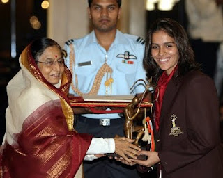 Indian Badminton Star Saina Nehwal