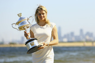 Belgian Female Tennis Star Kim Clijsters