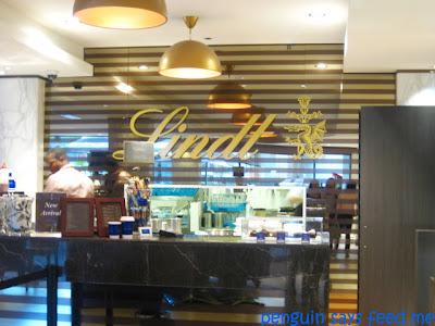 Lindt Cafe George St Sydney